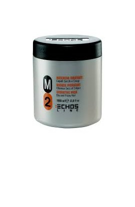 Macarilla hidratante para cabellos crespos M2 1000 ml Echosline