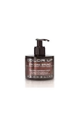 Mascarilla Regeneradora de color Color Up Zircone Bruno Chocolate 250 ml Echosline
