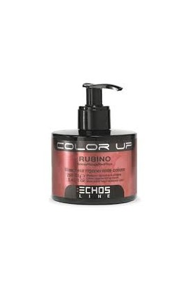 Mascarilla Regeneradora de color Color Up Rubino Rojo 250 ml Echosline