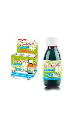 Underpil Azulene Oil Depil Ok (Expositor de 6 Fcos. de 125 ml)